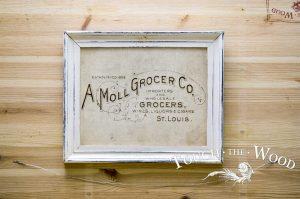 Vintage American Grocery Advert