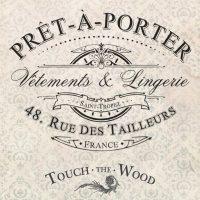 Vintage French Advert: Pret-a-Porter