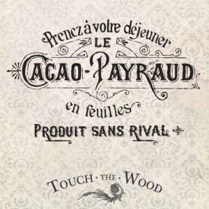 Vintage French Cocoa Advert