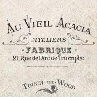 Acacia Atelier Vintage French Adver