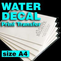 Main image of Blank Water Decal Paper Sheets for Shabby Chic Print Transfers size A4