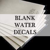 Blank Water Decal