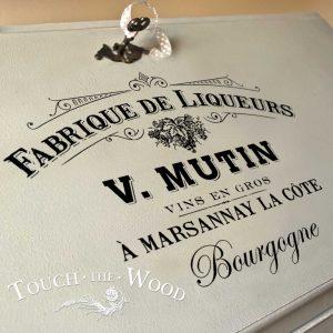 French Vintage Fabrique de Liqueurs advert