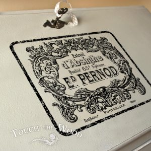 Vintage French Absinthe Pernod Label